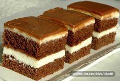 LoveAffair Cakes by mirela …: Milk Kocke / Milk Squares Cookie Desserts, Easy Desserts, Cookie Recipes, Dessert Recipes, Albanian Recipes, Croatian Recipes, Albanian Food, Vegan Chocolate, Chocolate Desserts