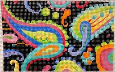 Associated Talents needlepoint design from Pocket Full of Stitches blog.