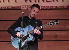 Sam Palladio Photos - Sam Palladio performs during Band Together: Classic Songs From Music City presented by Musicians Corner at City Winery Nashville on March 18, 2017 in Nashville, Tennessee. - Musicians Corner Presents Band Together: Classic Songs From Music City