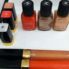 Chanel Summertime 2012 Collection #chanelmakeup #chanel #rougecocoshine #lipgloss