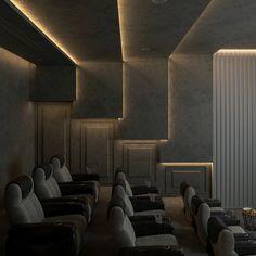 Home Theater Room Design, Home Cinema Room, Home Theater Decor, Home Theater Rooms, Home Theater Seating, Home Room Design, Dream Home Design, Home Decor Bedroom, Home Interior Design