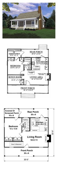 Cabin house plans on pinterest cool house plans for Winter cabin plans