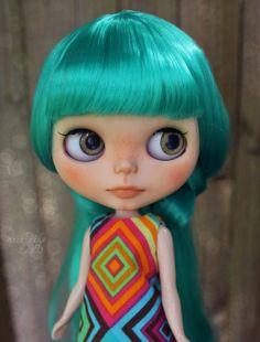 Selene - OOAK Custom Art Blythe Doll by Rainfable Dolls (2015)
