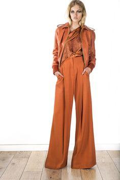 Rachel Zoe Resort 2016 Fashion Show 70s Fashion, High Fashion, Fashion Show, Fashion Outfits, Fashion Trends, Fashion 2016, Rachel Zoe, Spring Summer 2016, Mode Inspiration