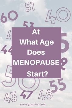 Women often wonder if they have started with menopause, or is something else causing their symptoms.  Or they wonder if menopause is too early of too late. Find out more about the age of menopause in this article. Early Menopause, Post Menopause, Menopause Symptoms, Irregular Menstrual Cycle, Weight Bearing Exercises, Night Sweats, Hot Flashes, Mood Swings, Energy Level