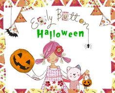 Make a Halloween pumpkin, visit www.emilybutton.co.uk Halloween Pumpkins, Little Ones, Entertaining, Activities, Button, How To Make, Halloween Gourds, Funny, Buttons