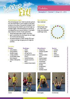 Beweegkaart nummer 1: Pinkelen.  Lekker Fit  www.lekkerfitopschool.nl