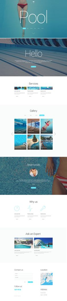 Pool Cleaning WordPress Theme can become a rock-solid foundation for a maintenance services website. Fully featured and responsive, it includes every element that you need for an effective presenta...