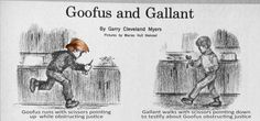 President Goofus and FBI Director Gallant