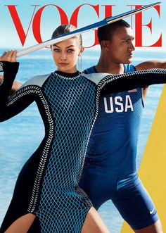 Olympics Fever! Gigi Hadid Meets the World's Greatest Athlete, Ashton Eaton