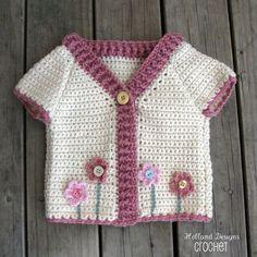 Letras e Artes da Lalá: blusa de tricô para menina
