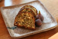 Fresh Fig Cake with Buttermilk Glaze , the fig tree is so full! here is an idea