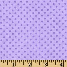 Flannel Mini Dots Tonal Purple from @fabricdotcom  Designed for Fabri-Quilt, this soft, double-napped fabric (brushed on both sides) is perfect for quilting, apparel and crafts. Colors include shades of purple.