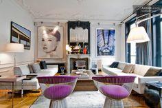Fine Design and Art familial Living in Paris