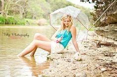 Senior Photography Props Pose.  Tishy Photography