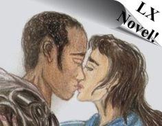 Lumanite X Images - Science Fiction Novel - Lumanite X - Lumanite & Nebula's first kiss!  http://www.lumanusmedia.com/novel1.htm