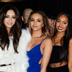 Danielle Peazer with Jade Thirwall and Leigh-Anne Pinnock from Little Mix