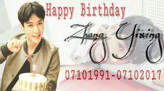 Happy Birthday Lay EXO/ Zhang Yixing. #layexo #zhangyixing #boy #birthday