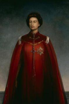 HM Queen Elizabeth II - Pietro Annigoni