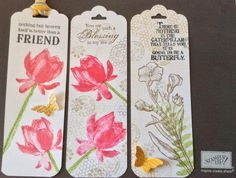 Lotus Blossoms bookmark by yapsukyun1968 - Cards and Paper Crafts at Splitcoaststampers