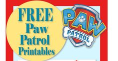 Mama's Gone Crafty: Paw Patrol Birthday- Party- Pup-tastic Ideas!