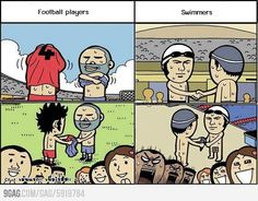 Football Team VS Swimming Team <3 Experience Greater Abundance, Joy and Happiness in life @ www.massivewealthtosuccess.com
