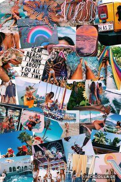New Quotes Summer Blue Ideas Tumblr Wallpaper, Wallpaper Backgrounds, Iphone Wallpaper, Summer Vibes, Summer Fun, Summer Goals, Tableau Pop Art, Whatsapp Wallpaper, Aesthetic Collage
