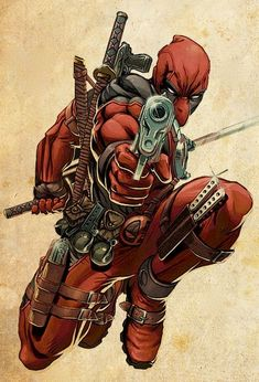 Deadpool is one of the cooler comic book characters, he is the Psychotic Marvel Anti-hero Extraordinaire