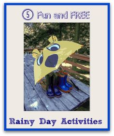 Rainy Day Activities for Kids Rainy Day Activities For Kids, Rainy Day Fun, Kid Activities, Rainy Days, Games For Kids, Crafts For Kids, Kids Zone, All Kids, Parent Resources