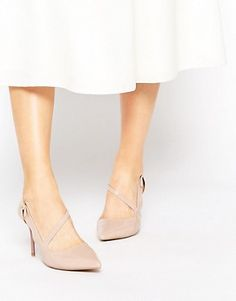 bd9031398b Miss KG   Miss KG Natalie Cross Strap Heeled Shoes at ASOS Strap Heels,  Wedge