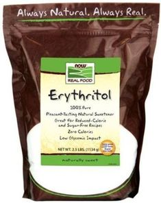 Erythritol is newer on the sugar alternatives market. However, is probably one of the best sugar replacements. Unlike other sugar alcohols, Erythritol does not give you stomach cramps, and more than that it has antioxidant properties. The price per serving is slightly higher than others, but is worth.