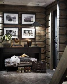 Top 60 Best Log Cabin Interior Design Ideas - Mountain Retreat Homes Home Interior Design, Interior Design, House Interior, Modern Cabin, Wood Interior Design, White Interior, Log Cabin Interior, Cabin Interior Design, White Interior Design
