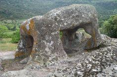 """Risultati immagini per """"Il toro"""", a sculpture nearby Necropolis Sant'Andria Priu, Sardinia"""