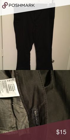 American eagle work pants Black American eagle work pants size 16 American Eagle Outfitters Pants Boot Cut & Flare