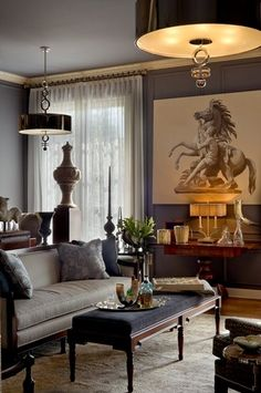 7 Fortunate Clever Ideas: Small Living Room Remodel Floating Shelves living room remodel with fireplace mantels.Living Room Remodel With Fireplace Decor livingroom remodel window treatments.Living Room Remodel Before And After French Doors. Living Room Designs, Living Room Decor, Living Spaces, Living Rooms, Design Salon, Classic Interior, Living Room Remodel, Interior Design Inspiration, Design Ideas