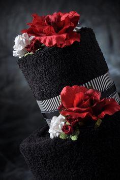 220 best Red & Black Wedding Inspirations images on Pinterest in ...