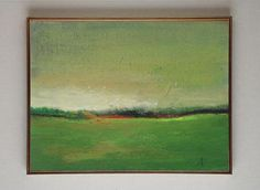 Sunset Countryside  original oil painting  landscape by VESNAsART