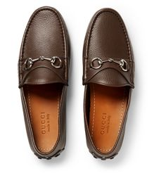 Driving can take its toll on your feet and ankles, so these Gucci shoes are a great investment for those who find themselves often behind the wheel and want to look sharp when they arrive at their destination. The soles are made from thick rubber that provides comfort, support and stability, while the upper is based on the brand's iconic horsebit loafer, ensuring this brown leather pair look as good as they feel.