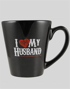 I Love MY Husband! In today's culture where marriage is being thrown away like yesterday's garbage, we need to boldly show the love we have for our spouse. God has created a beautiful union with a man and a woman. Let's celebrate the gift God has given to us!