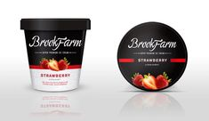 Brookfarm Super Premium Ice Cream by SHFT