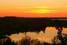 Westport Ontario - Now that is a nice Sunset!