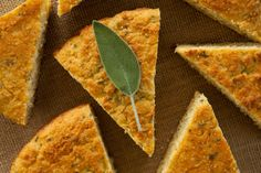 Use Sage from your garden for this yummy recipe for sage cornbread