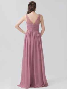 V-neck Dress with Lace Straps | Plus and Petite sizes available! Hundreds of styles, tons of colors!