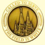awesome LDS Misionary Challenge Coin -Gold plated / http://www.mormonlaughs.com/lds-misionary-challenge-coin-gold-plated/