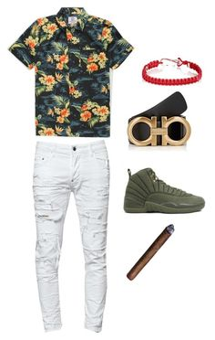 """""""Chill"""" by princeton20181 ❤ liked on Polyvore featuring Dsquared2, Salvatore Ferragamo, ZADEH, men's fashion and menswear"""