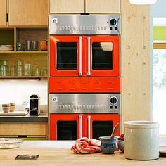 Bright appliances in the kitchen