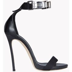 DSQUARED2 Parachute Hook Sandals ($825) ❤ liked on Polyvore featuring shoes, sandals, black, hooks shoes, kohl shoes, dsquared2 shoes, black shoes and black sandals
