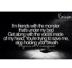 Eminem ft. Rihanna~ The Monster