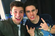 Nash Grier and Shawn Mendes