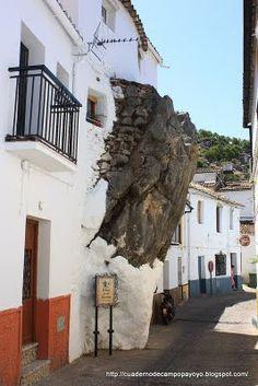 Peñon de la Becerra, UBRIQUE, Ruta de los Pueblos Blancos,CADIZ  Andalucia Spain